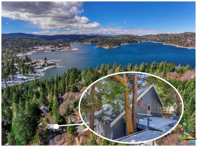 226 Sunset Drive, Lake Arrowhead, CA 92352 (#18313790PS) :: Angelique Koster