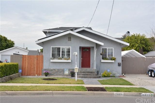 24813 Oak Street, Lomita, CA 90717 (#SB18053663) :: Lamb Network