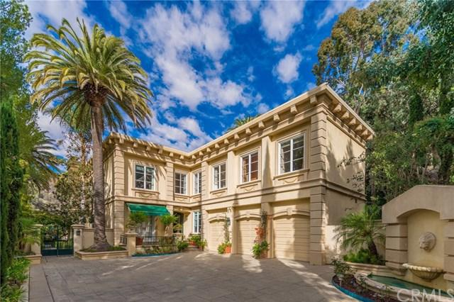 1756 Clear View Drive, Beverly Hills, CA 90210 (#WS18059858) :: The Avellan Group