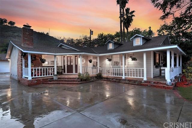 10429 Wheatland Avenue, Shadow Hills, CA 91040 (#SR18060769) :: Barnett Renderos