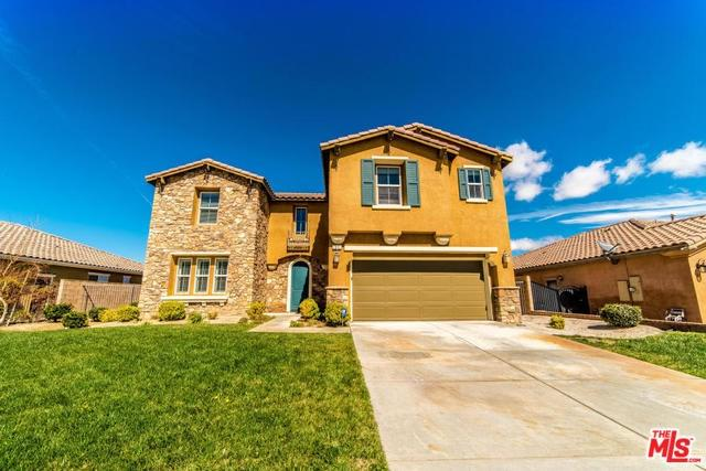 1651 Date Palm Drive, Palmdale, CA 93551 (#18324316) :: Realty Vault