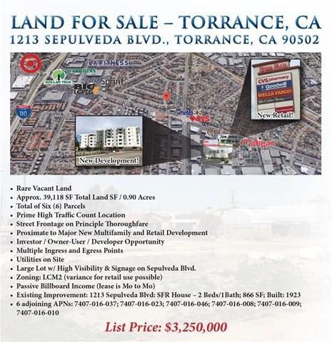 1213 Sepulveda Boulevard, Torrance, CA 90502 (#SB18062934) :: Impact Real Estate