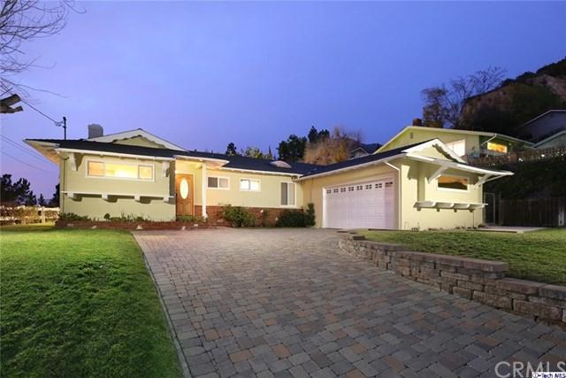 5441 Rock Castle Drive, La Canada Flintridge, CA 91011 (#318001021) :: Prime Partners Realty