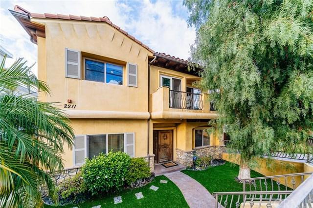 2211 Carnegie Lane A, Redondo Beach, CA 90278 (#PV18064430) :: Millman Team