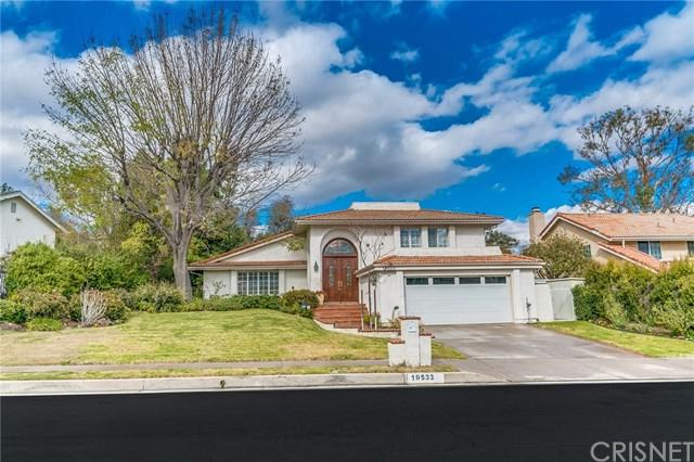 19533 Singing Hills Drive, Porter Ranch, CA 91326 (#SR18053189) :: The Darryl and JJ Jones Team