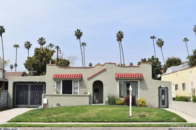 3867 Arlington Avenue, Leimert Park, CA 90008 (#SB18075202) :: Fred Sed Group
