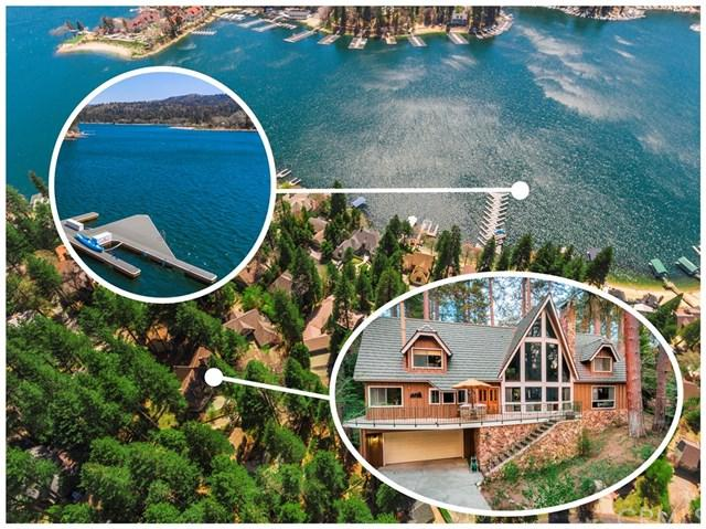 399 Giant Oak, Lake Arrowhead, CA 92352 (#EV18085160) :: Angelique Koster