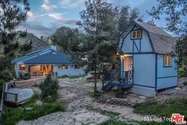 1651 Old Topanga Canyon Road, Topanga, CA 90290 (#18331942) :: The Ashley Cooper Team