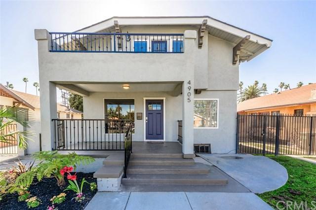 4905 Cimarron Street, Los Angeles (City), CA 90062 (#DW18088488) :: Barnett Renderos