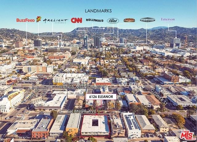6126 Eleanor Avenue, Los Angeles (City), CA 90038 (#18334904) :: Bauhaus Realty