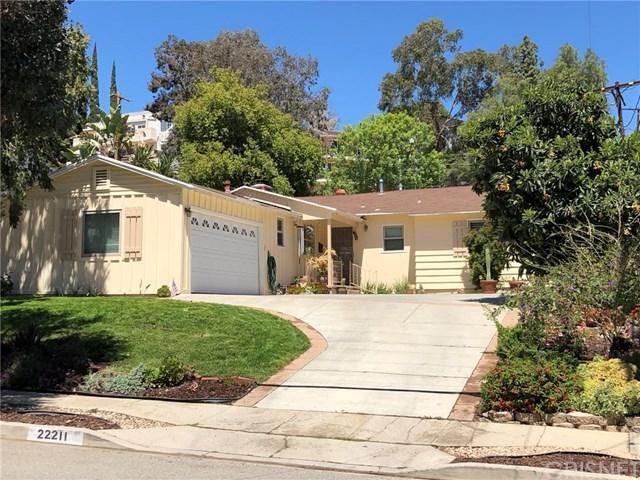 22211 Buena Ventura Street, Woodland Hills, CA 91364 (#SR18093367) :: Kristi Roberts Group, Inc.