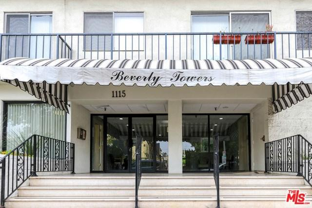 1115 S Elm Drive #213, Los Angeles (City), CA 90035 (#18325436) :: Prime Partners Realty