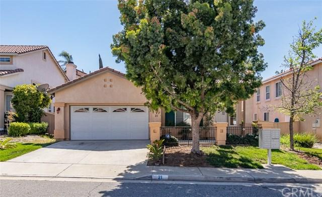 21 Villa Milano, Lake Elsinore, CA 92532 (#IV18093412) :: Allison James Estates and Homes