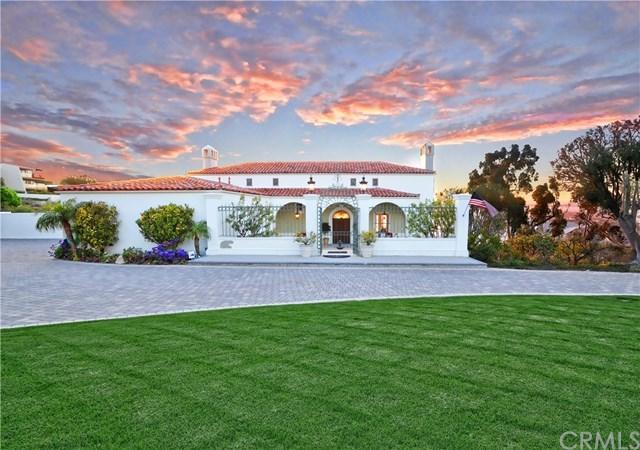 915 Via Panorama, Palos Verdes Estates, CA 90274 (#PV18112103) :: Millman Team