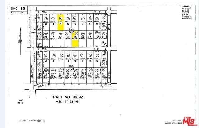 0 Vac/Ave R12/Vic Longview Road, Sun Village, CA 93543 (#18336466) :: Barnett Renderos