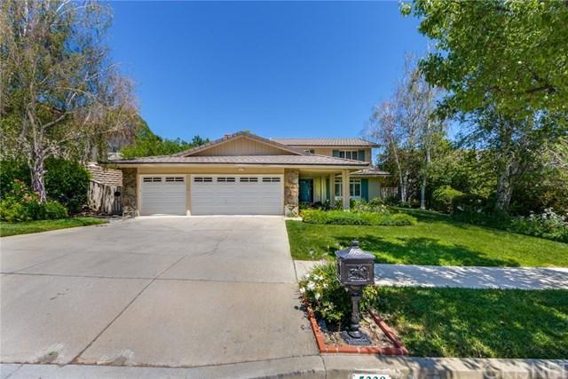 5338 Ambridge Drive, Calabasas, CA 91301 (#SR18119171) :: Fred Sed Group