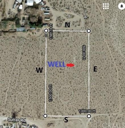 0 Sutter Road, Lucerne Valley, CA 92356 (#EV18119206) :: Group 46:10 Central Coast