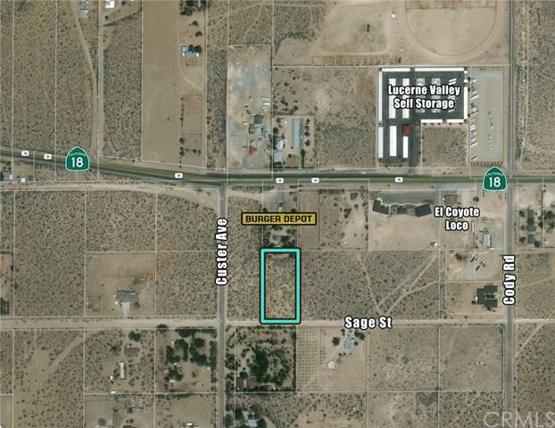0 Sage Street, Lucerne Valley, CA 15728 (#CV18120812) :: Group 46:10 Central Coast