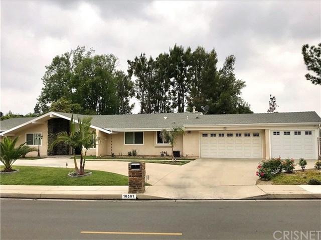 16561 Knollwood Drive, Granada Hills, CA 91344 (#SR18123765) :: Fred Sed Group