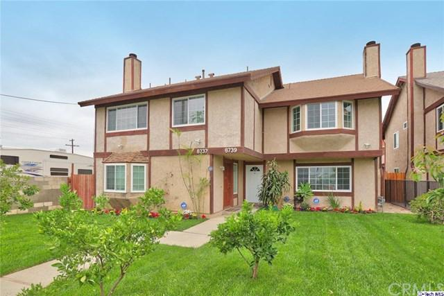 8737 Canby Avenue, Northridge, CA 91325 (#318002052) :: Fred Sed Group