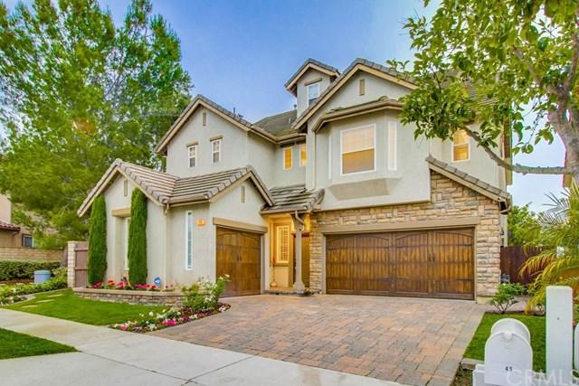 45 Windswept Way, Mission Viejo, CA 92692 (#IV18124370) :: Fred Sed Group
