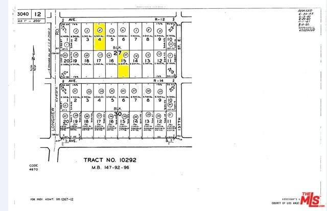 0 Vac/Ave R14/Vic 137Th St, Sun Village, CA 93543 (#18345450) :: Barnett Renderos