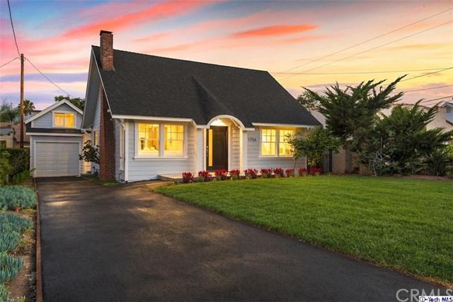 1756 Beverly Drive, Pasadena, CA 91104 (#318002345) :: The Brad Korb Real Estate Group