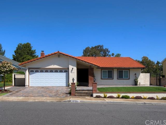 27351 Via Amistoso, Mission Viejo, CA 92692 (#OC18133775) :: Z Team OC Real Estate