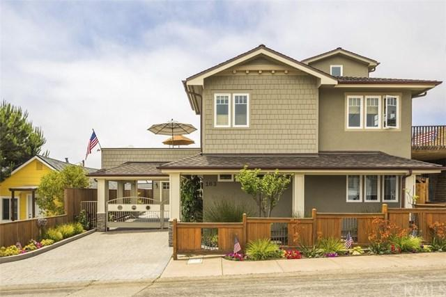 163 F Street, Cayucos, CA 93430 (#SC18160710) :: RE/MAX Parkside Real Estate