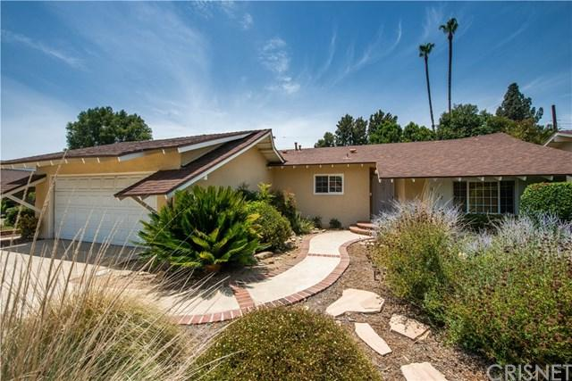 9817 Lubao Avenue, Chatsworth, CA 91311 (#SR18167145) :: RE/MAX Masters