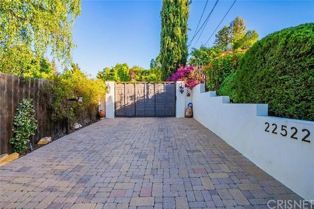 22522 Faubion Place, Calabasas, CA 91302 (#SR18157805) :: Fred Sed Group