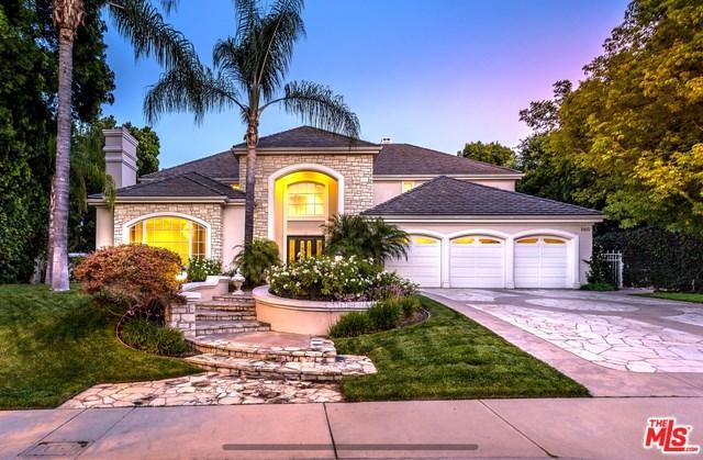 5415 Amber Circle, Calabasas, CA 91302 (#18364472) :: Fred Sed Group