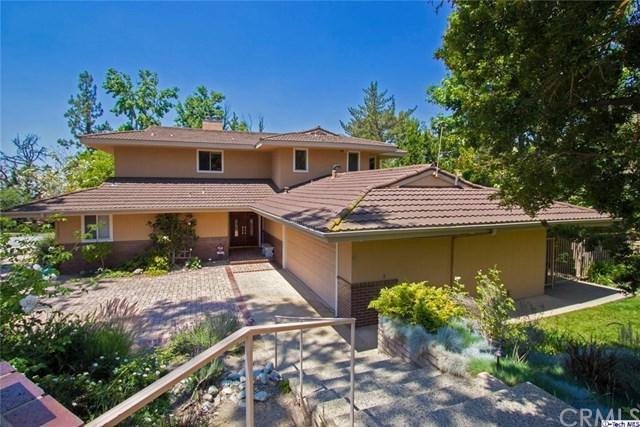 5805 Lone Grove Way, La Canada Flintridge, CA 91011 (#318002803) :: Fred Sed Group
