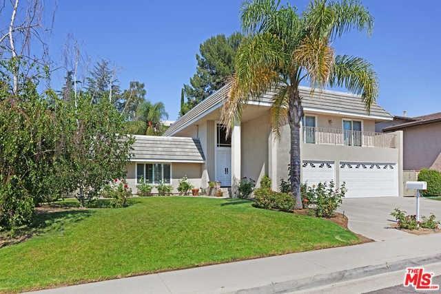 4001 Coldstream Terrace, Tarzana, CA 91356 (#18365048) :: Fred Sed Group
