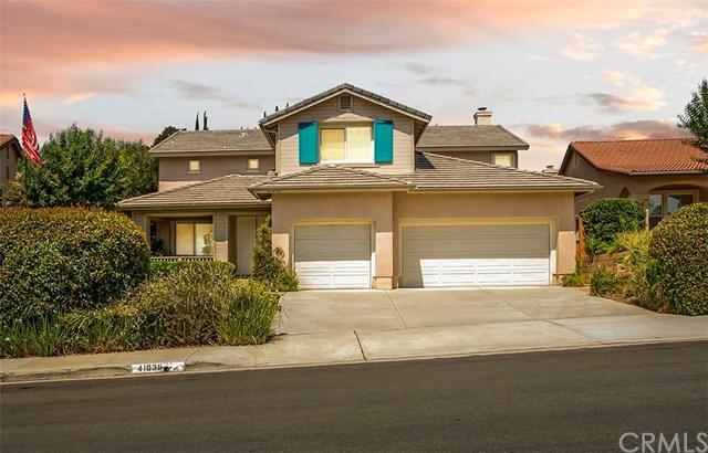41035 Burgess Court, Temecula, CA 92591 (#SW18171802) :: Kristi Roberts Group, Inc.