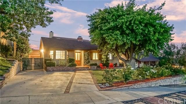 718 Groton Drive, Burbank, CA 91504 (#SR18170136) :: The Laffins Real Estate Team