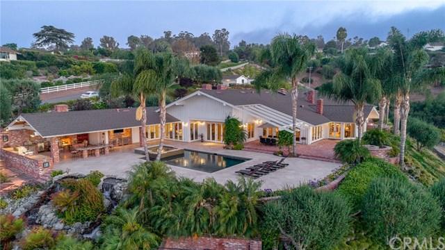35 Saddleback Road, Rolling Hills, CA 90274 (#SB18158729) :: The Ashley Cooper Team