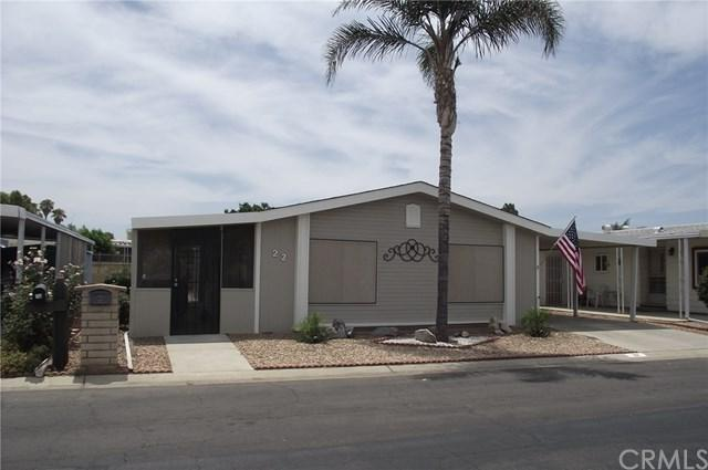 1250 N Kirby Street #22, Hemet, CA 92545 (#PW18176586) :: Allison James Estates and Homes