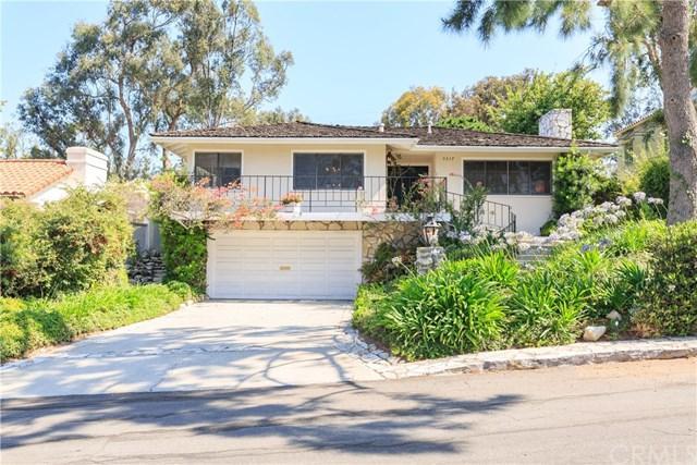 3317 Via Palomino, Palos Verdes Estates, CA 90274 (#SB18189997) :: Fred Sed Group