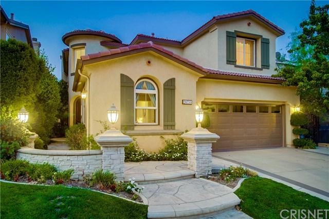 20755 Bergamo Way, Porter Ranch, CA 91326 (#SR18194407) :: Z Team OC Real Estate