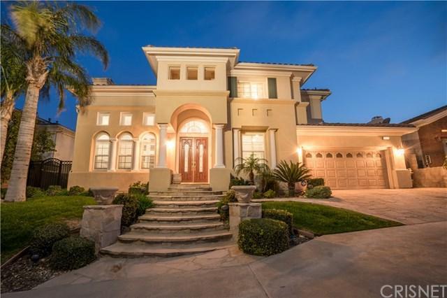 20218 Via Medici, Porter Ranch, CA 91326 (#SR18194824) :: Z Team OC Real Estate