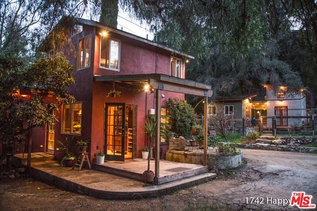 1742 Happy Trail, Topanga, CA 90290 (#18373010) :: RE/MAX Masters