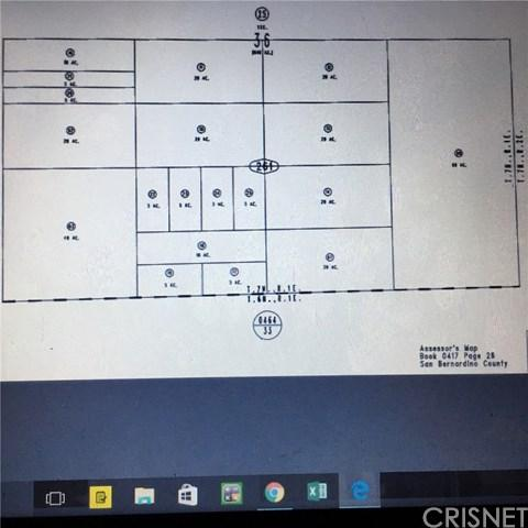 0 Check Platt Map, Barstow, CA  (#SR18202311) :: RE/MAX Masters