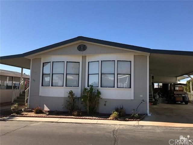 74711 Dillon Road #547, Desert Hot Springs, CA 92241 (#218023488DA) :: Barnett Renderos
