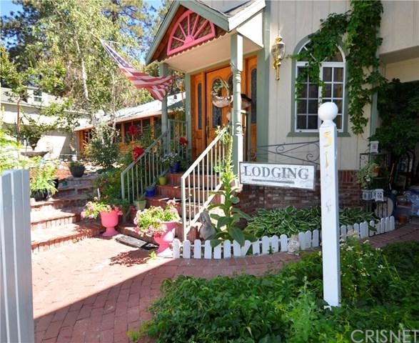 5194 Lone Pine Canyon Road, Wrightwood, CA 92397 (#SR18208508) :: Team Tami