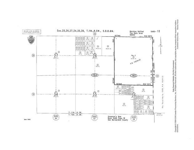 0 Hoffman, Barstow, CA 92311 (#SR18224635) :: RE/MAX Empire Properties