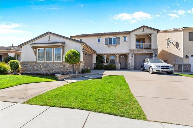 7931 Slate Creek Road, Eastvale, CA 92880 (#IG18219355) :: The DeBonis Team