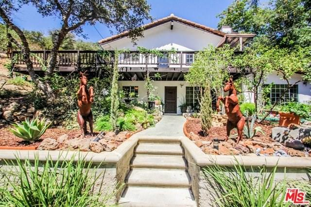 2365 Old Topanga Canyon Road, Topanga, CA 90290 (#18387150) :: The Ashley Cooper Team