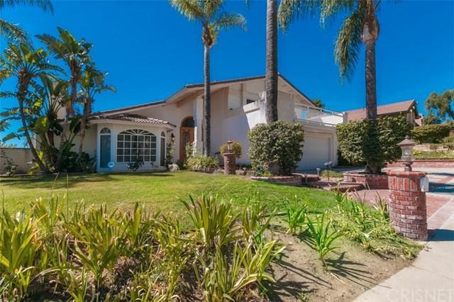 17640 Arvida Drive, Granada Hills, CA 91344 (#SR18228614) :: Fred Sed Group