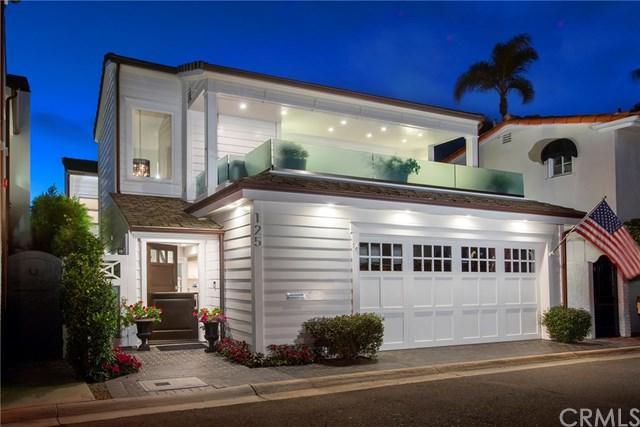 125 Via Mentone, Newport Beach, CA 92663 (#NP18228053) :: Scott J. Miller Team/RE/MAX Fine Homes